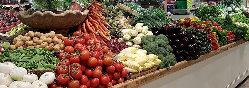 fruits et légumes de la boutique Sources de Vie